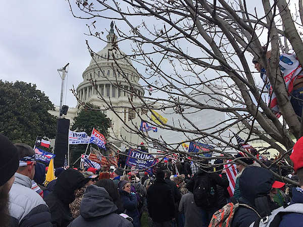 Storming the Capitol